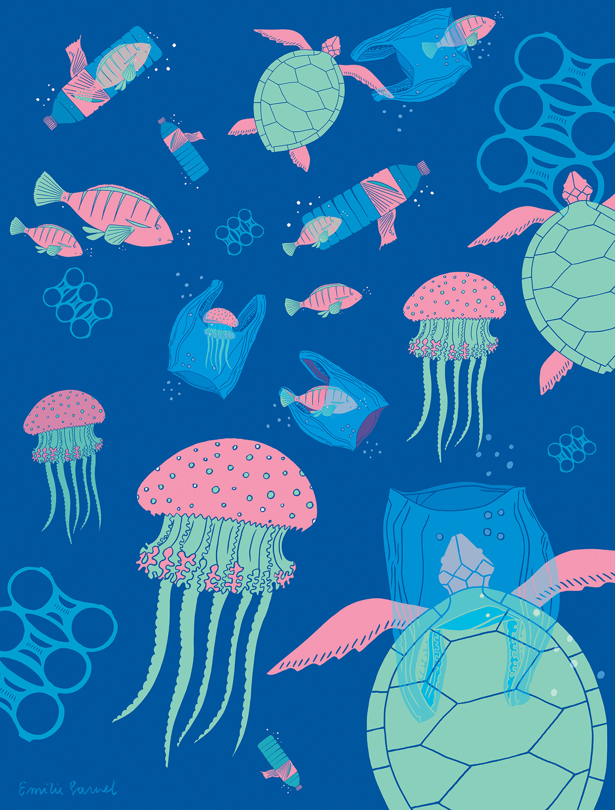 save our oceans poster wwf emiliesarnel