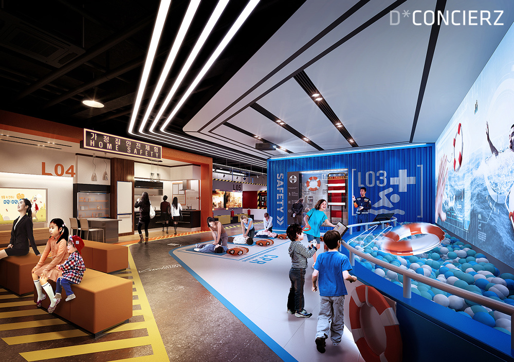 D Exhibition Hall : Okcheon safety experience center proposal dconcierz