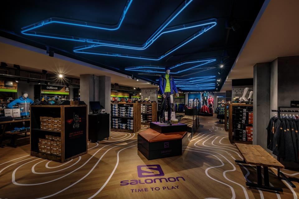 Karstadt Sports Store Concept Jonas G 246 Rtz Interior